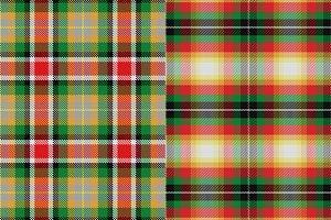 Two patterns Scottish tartan Alabama