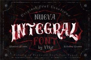 Integral Font by VTKS