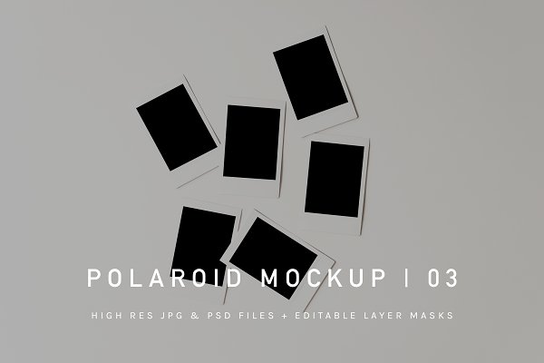 Polaroid Mockup | PSD & JPG