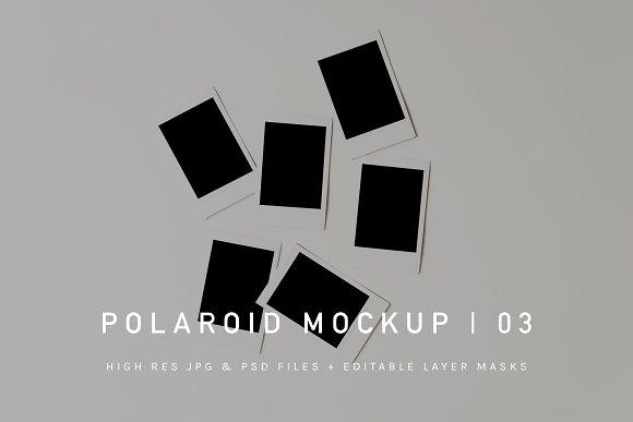 Download Polaroid Mockup | PSD & JPG