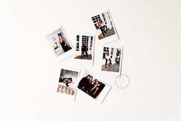 Polaroid Mockup | PSD & JPG in Product Mockups - product preview 1