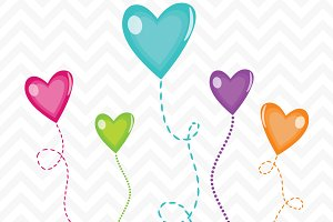 Clip Art Candy Hearts Vector