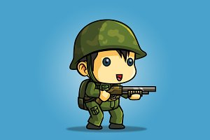 Tiny Soldier 01 (Chinese Soldier)
