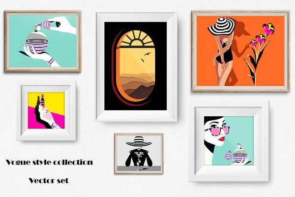 Chic & modern. Fashion & travel set