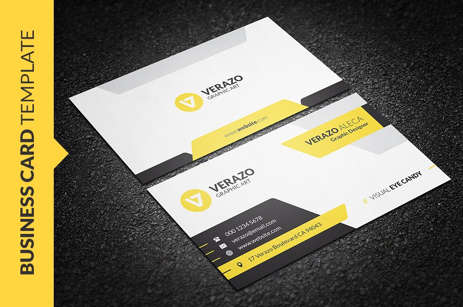 Creative corporate business card business card templates creative modern business card reheart Image collections