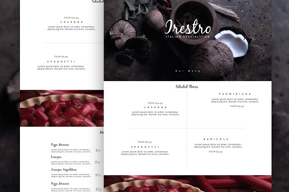 irestro - Restaurant PSD Template