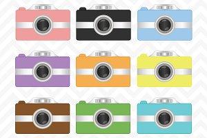 Clip Art Digital Camera Vectors