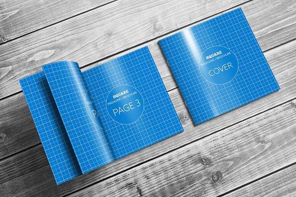 Download Square Magazine / Brochure Mock-Ups