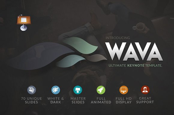 Wava | Keynote Template