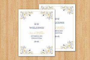 Wedding Welcome Basket Tag