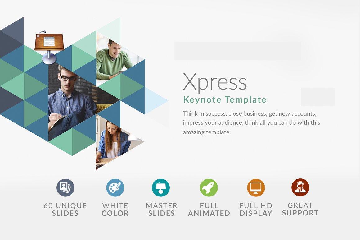 Xpress keynote template presentation templates creative market stopboris Choice Image