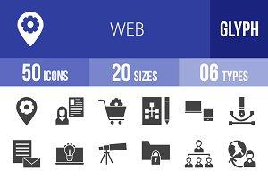 50 Web Glyph Icons