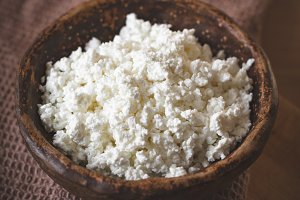 Farmers cottage cheese