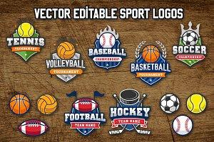 Sports Vintage Logos