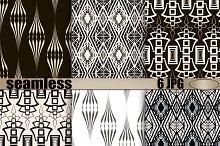 Patterns modern backgrounds Art Deco