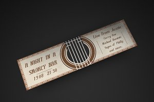 Musical Bar Night Event Ticket