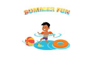 Summer Fun Concept