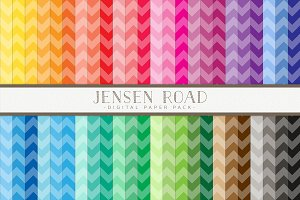 Med Chevron Rainbow Value Pack