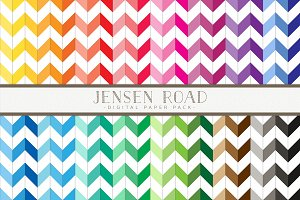Wide Chevron Rainbow Value Pack
