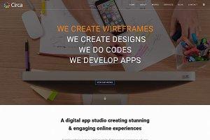 Creative Onepage PSD Template