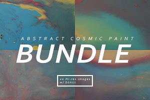 ABSTRACT Cosmic Paint Series BUNDLE