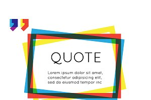 Quote template