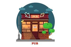 Night pub