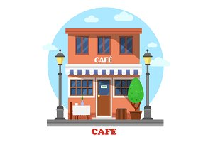 Architecture of cafe