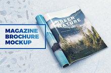 Magazine / Brochure MockUp