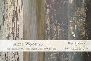 Aged wood 20