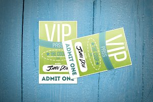 Fresh VIP Pass card