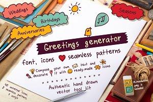 Greetings generator