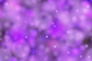 Bright purple magic light
