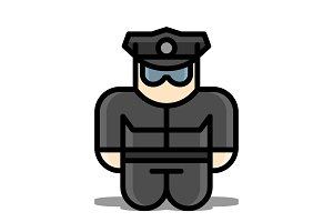 Policeman toy