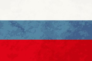 True proportions Russia flag