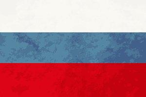 True proportions Russia flag