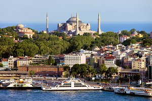 City of Istanbul in Turkey