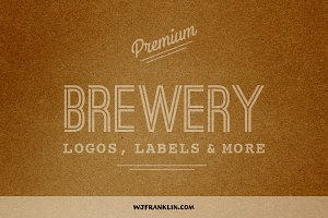 Premium Brewery Logos, Labels & More