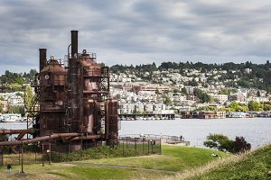 Seattle View from Gasworks Park