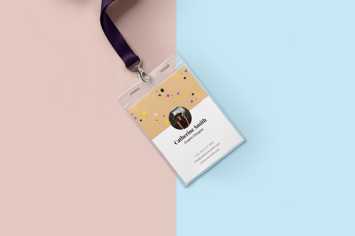Minimal Creative Id Card Design Card Templates