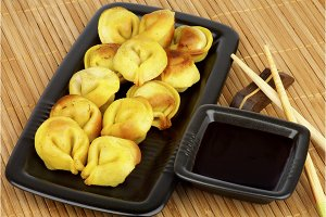 Crispy Dumplings