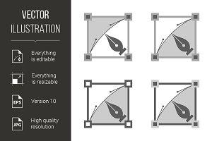 Four vector squares