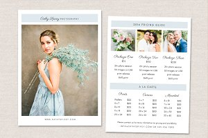 Photography Flyer Pricing Guide