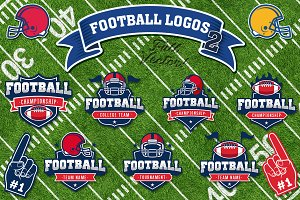 American Football Vector Logos Vol.2