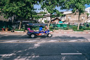 Tuk-Tuk In Motion