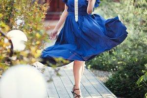 Fashion style portrait.