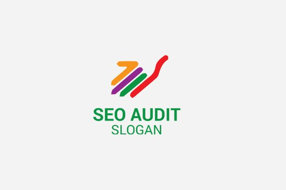 seo audit logo logo templates creative market. Black Bedroom Furniture Sets. Home Design Ideas
