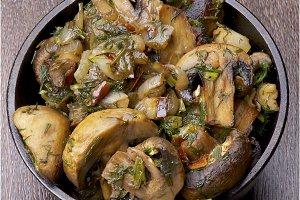 Mushrooms Stew
