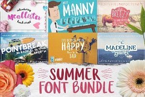 Summer Font Bundle