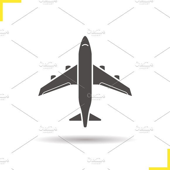 Plane icon. Vector - Icons